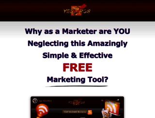 yes2rss.com screenshot