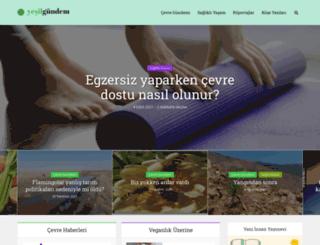 yesilgundem.com screenshot