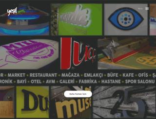 yesilreklam.com screenshot