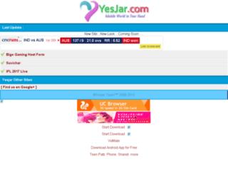 yesjar.com screenshot