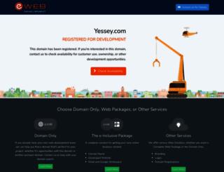 yessey.com screenshot