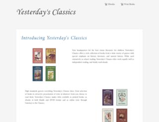 yesterdaysclassics.com screenshot
