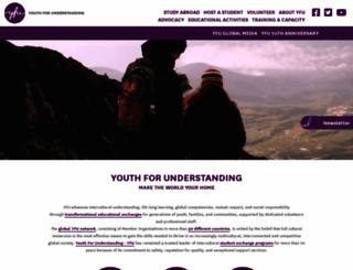 yfu.org screenshot