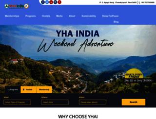 yhaindia.org screenshot