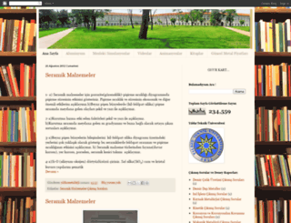 yildizmetalurji.blogspot.com screenshot