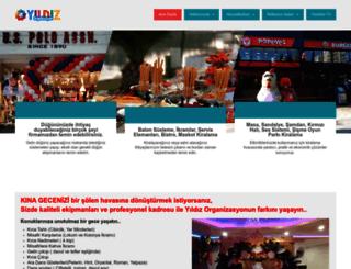 yildizorganizasyon.com screenshot