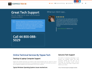 yippeetech.co.uk screenshot