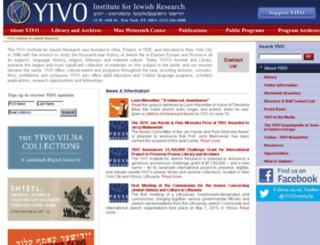 yivo.org screenshot