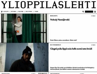 ylioppilaslehti.fi screenshot