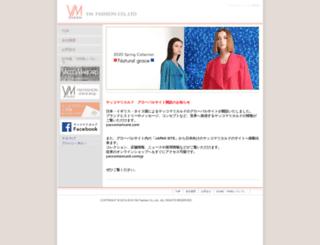 ym-fashion.co.jp screenshot
