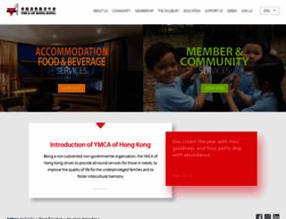 ymcahk.org.hk screenshot