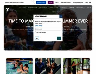 ymcapkc.org screenshot