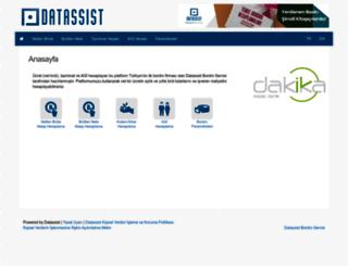ynb.datassist.com.tr screenshot