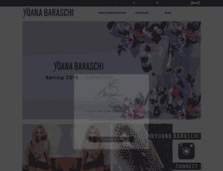 yoanabaraschi.com screenshot