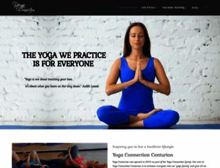 yogacenturion.co.za screenshot