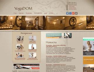 yogadom.ru screenshot
