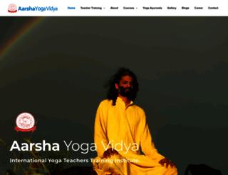 yogaindiameditation.com screenshot