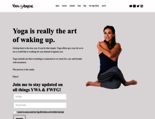 yogawithadriene.com screenshot