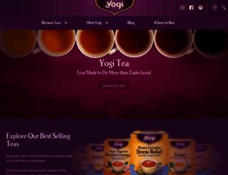 yogiproducts.com screenshot