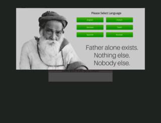 yogiramsuratkumarashram.org screenshot