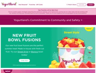 yogurt-land.com screenshot