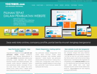 yogyaweb.com screenshot