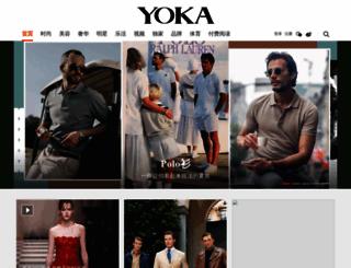 yoka.com screenshot