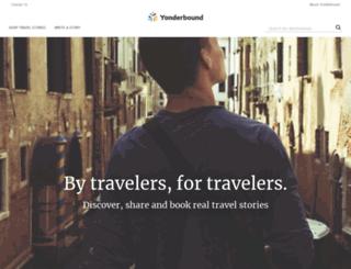 yonderbound.com screenshot