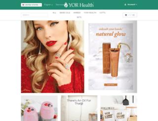 yorhealth.com screenshot