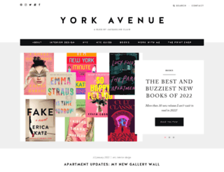yorkavenueblog.com screenshot