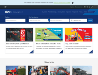yorkbus.co.uk screenshot