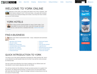 yorkonline.co.uk screenshot