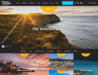 yorkshiremoorsandcoast.com screenshot