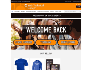 yorktech.bncollege.com screenshot