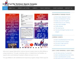 yorktownsportscomplex.com screenshot