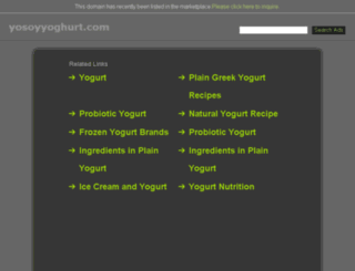 yosoyyoghurt.com screenshot
