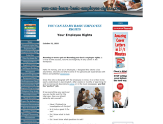 you-can-learn-basic-employee-rights.com screenshot