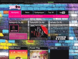 youfmradio.gr screenshot