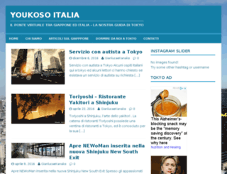 youkosoitalia.net screenshot