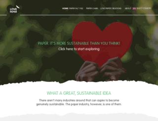 youlovepaper.info screenshot