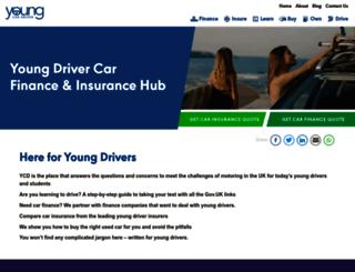 youngcardriver.com screenshot