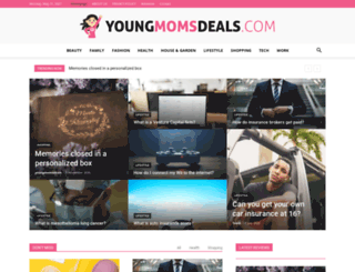 youngmomsdeals.com screenshot