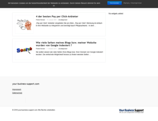 your-business-support.com screenshot