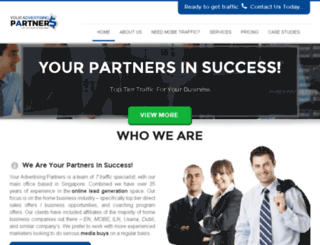 youradvertisingpartners.com screenshot