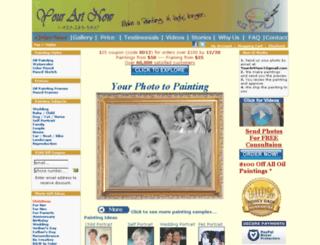 yourartnow.com screenshot