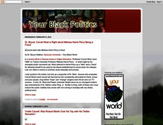yourblackpolitics.blogspot.fr screenshot