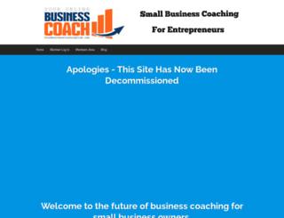 yourbusinesscoachingclub.com screenshot