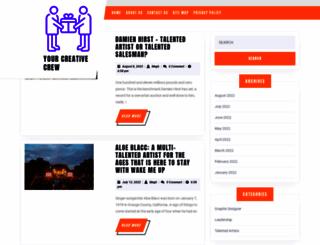 yourcreativecrew.com screenshot