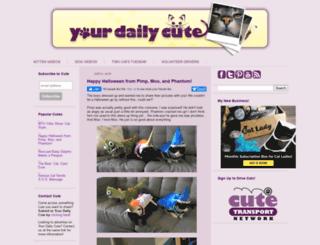 yourdailycute.com screenshot