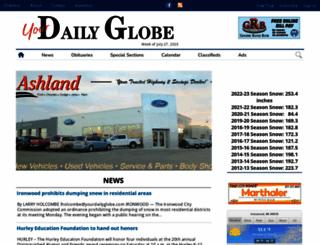 yourdailyglobe.com screenshot